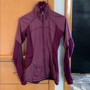 Maroon lululemon full zip jacket